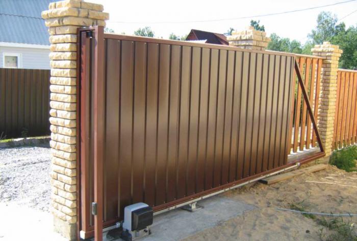 Сдвижные ворота (2)