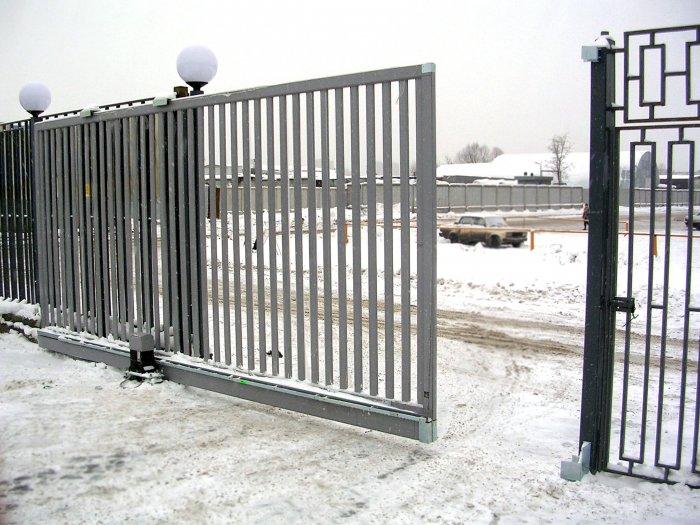 Сдвижные ворота (48)