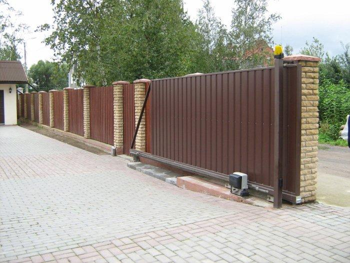 Сдвижные ворота (49)