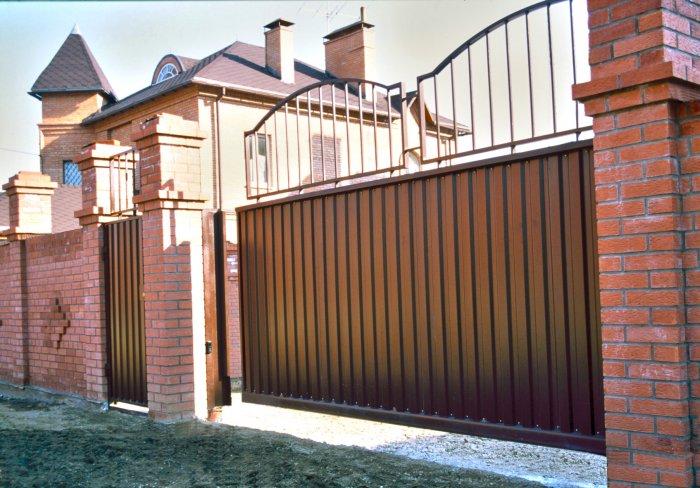 Сдвижные ворота (60)