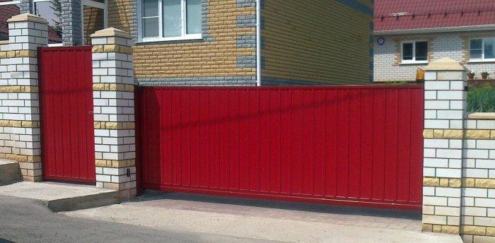 Сдвижные ворота (63)