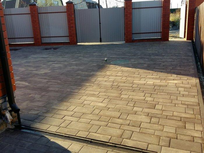 Укладка тротуарной плитки (102)