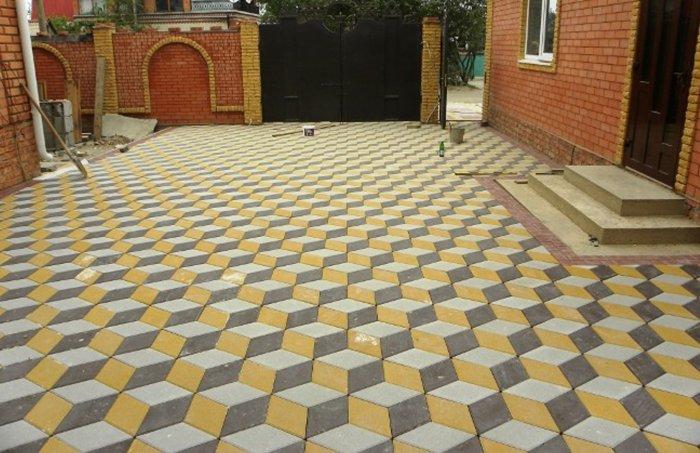 Укладка тротуарной плитки (15)