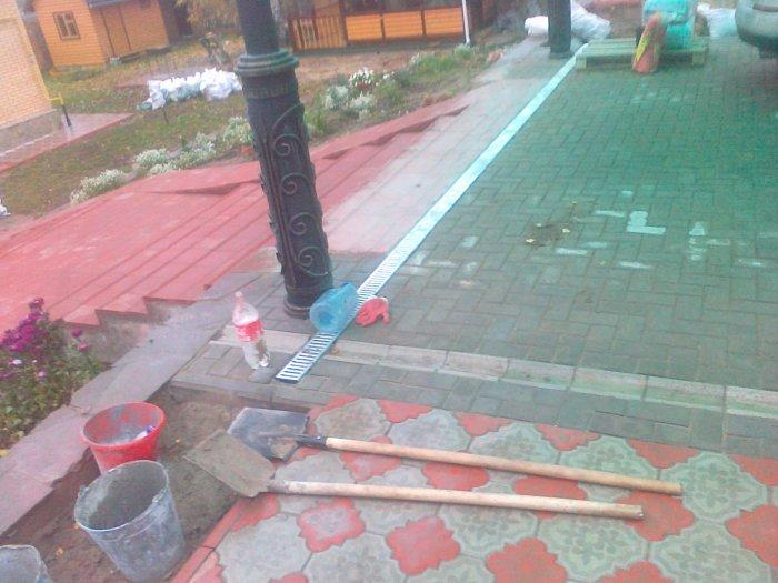 Укладка тротуарной плитки (17)