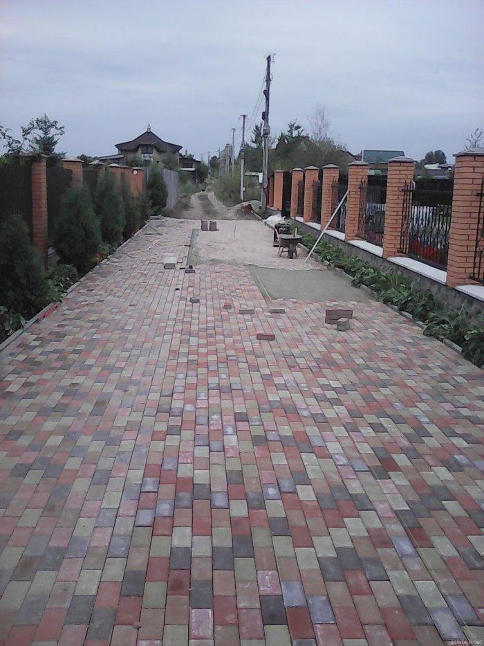Укладка тротуарной плитки (20)