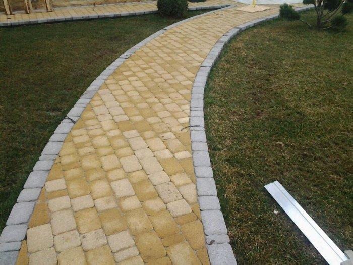 Укладка тротуарной плитки (22)