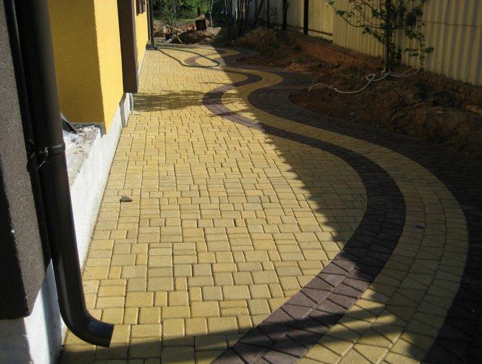 Укладка тротуарной плитки (26)
