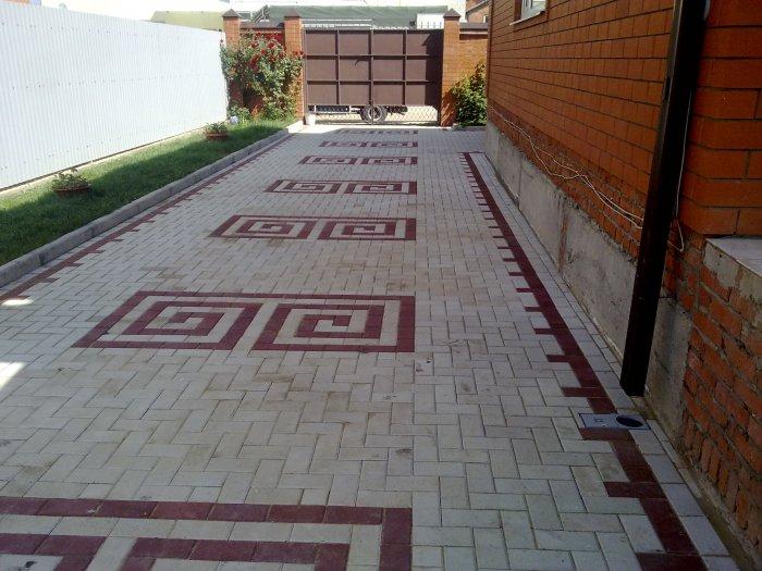 Укладка тротуарной плитки (28)