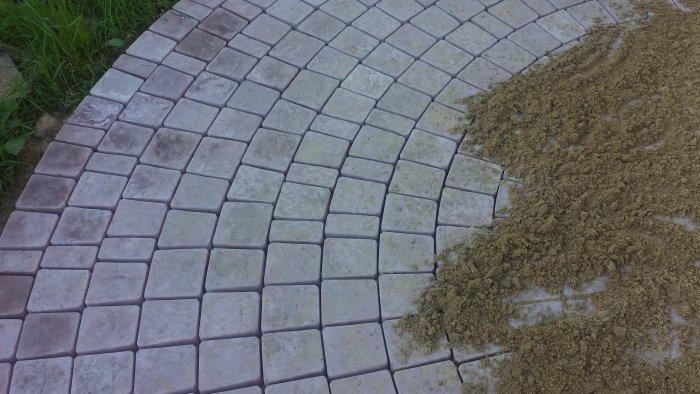 Укладка тротуарной плитки (33)