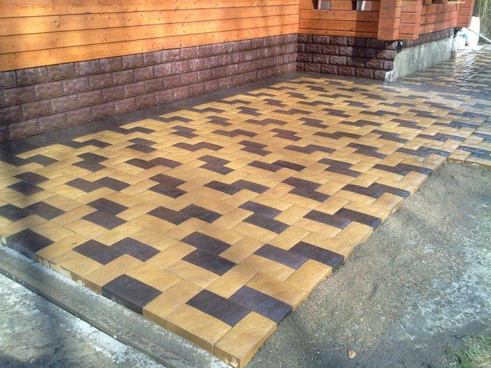 Укладка тротуарной плитки (34)