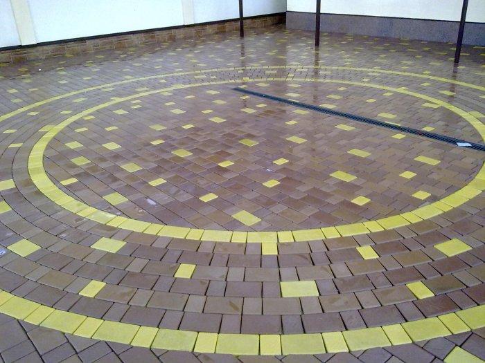 Укладка тротуарной плитки (35)