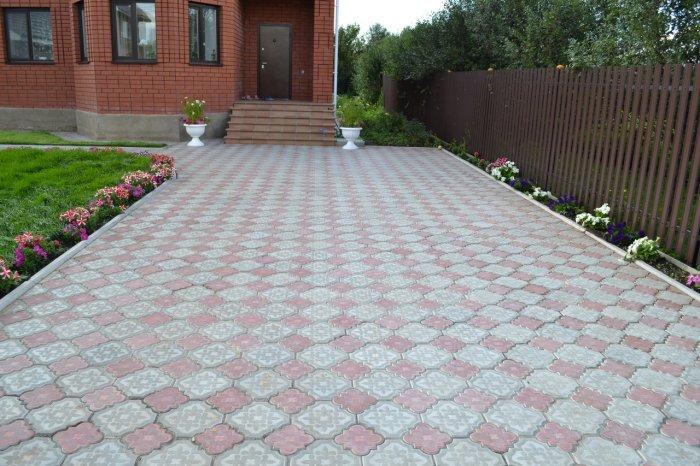 Укладка тротуарной плитки (37)