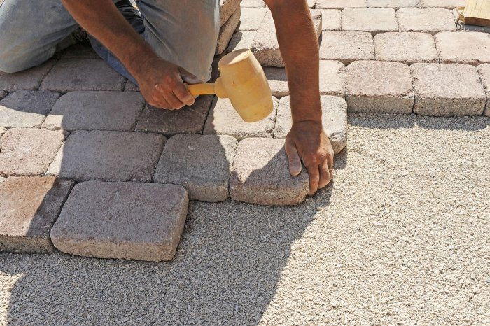 Укладка тротуарной плитки (39)
