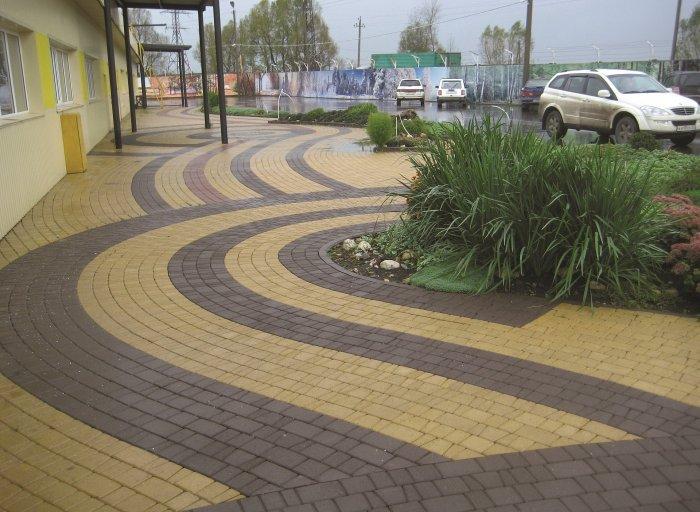 Укладка тротуарной плитки (40)