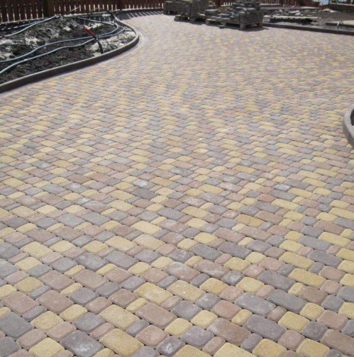 Укладка тротуарной плитки (41)