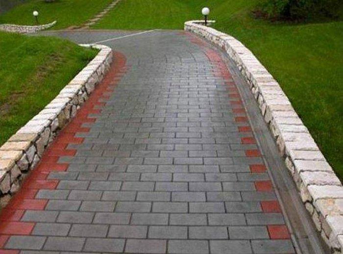 Укладка тротуарной плитки (43)