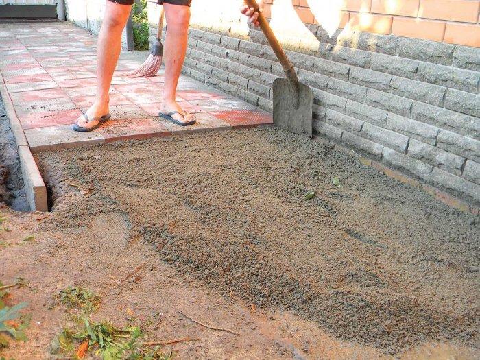 Укладка тротуарной плитки (46)