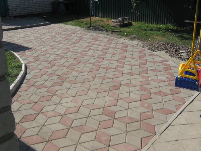 Укладка тротуарной плитки (47)