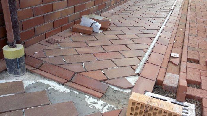 Укладка тротуарной плитки (5)