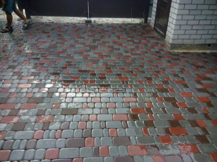 Укладка тротуарной плитки (50)