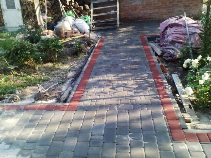 Укладка тротуарной плитки (51)