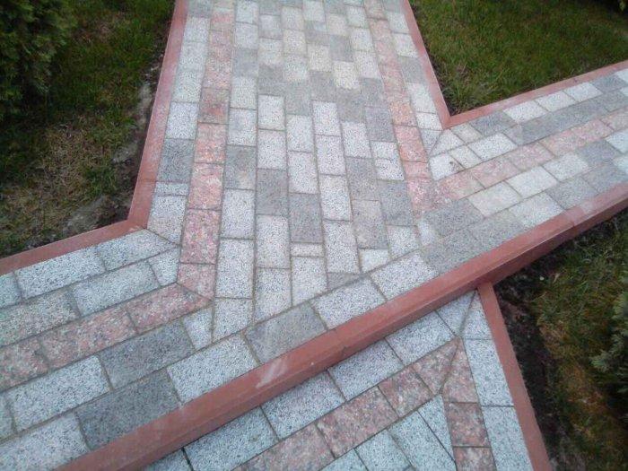 Укладка тротуарной плитки (52)