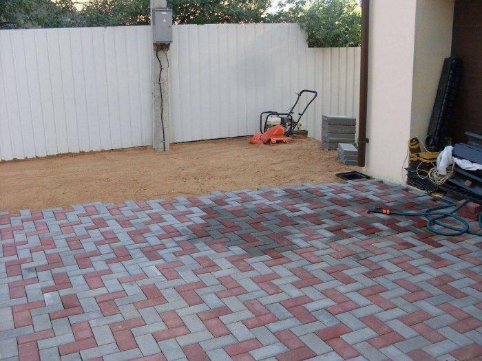 Укладка тротуарной плитки (55)