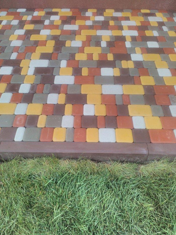 Укладка тротуарной плитки (58)