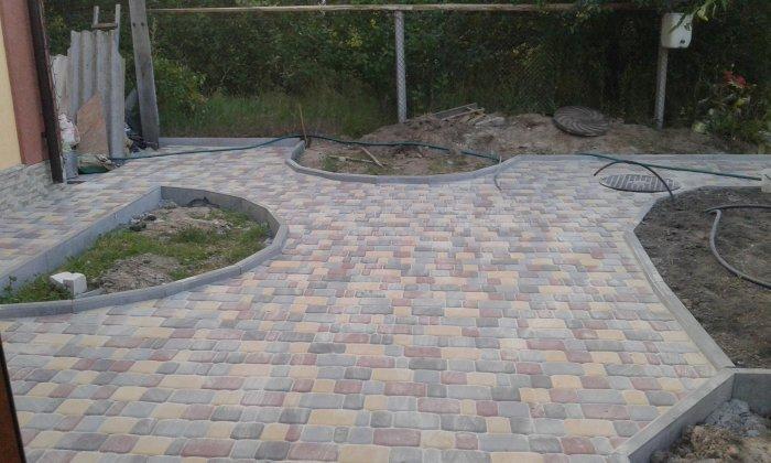 Укладка тротуарной плитки (6)