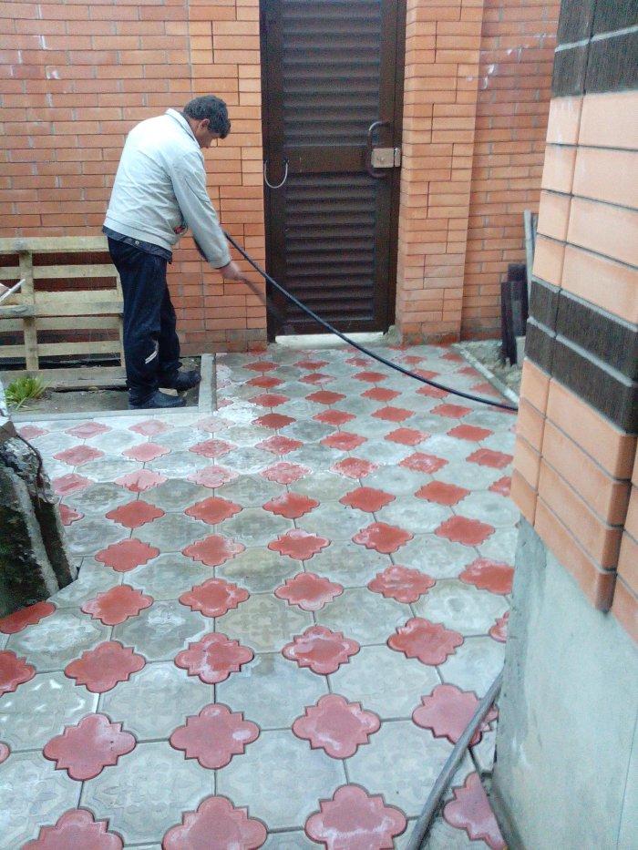 Укладка тротуарной плитки (60)