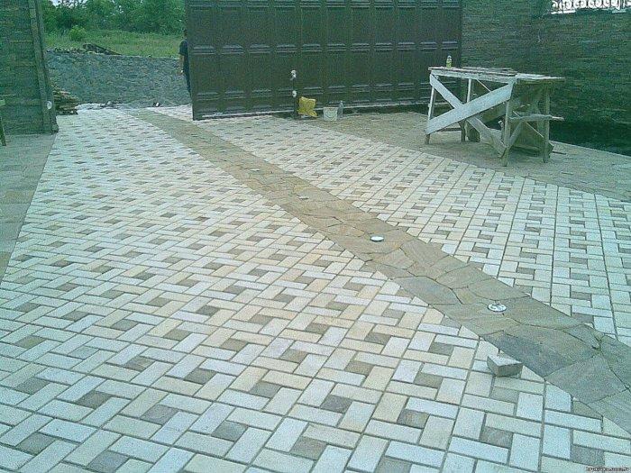 Укладка тротуарной плитки (69)