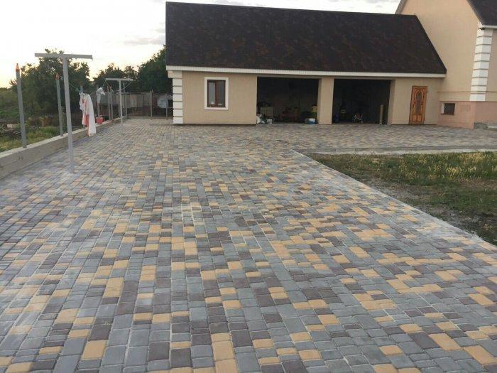 Укладка тротуарной плитки (7)