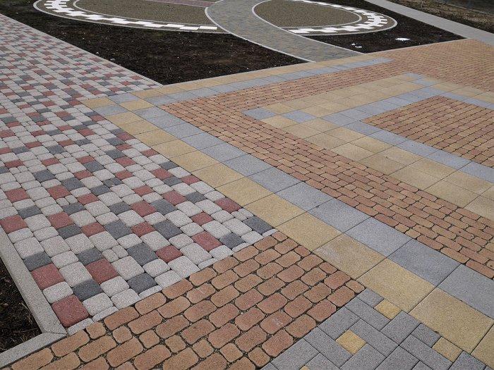 Укладка тротуарной плитки (71)