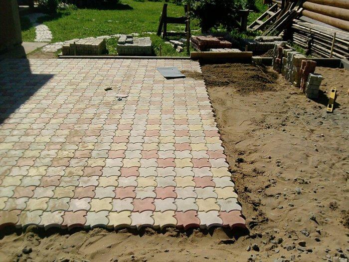 Укладка тротуарной плитки (8)