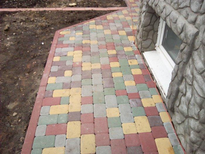 Укладка тротуарной плитки (84)