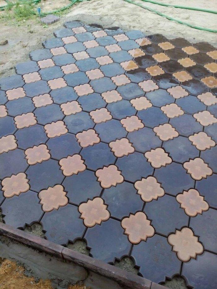 Укладка тротуарной плитки (88)