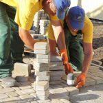 Укладка тротуарной плитки (9)