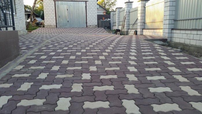 Укладка тротуарной плитки (98)
