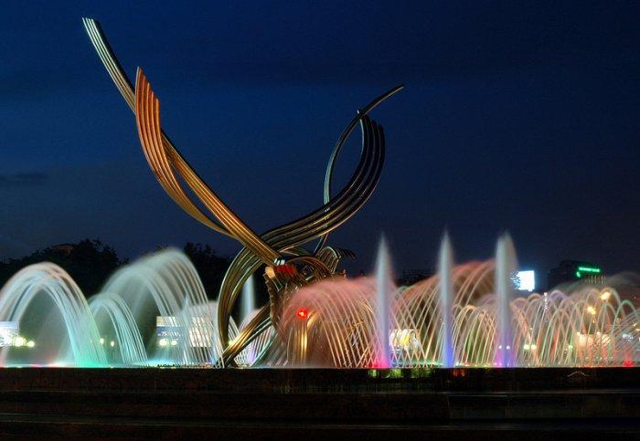 Как устроены городские фонтаны
