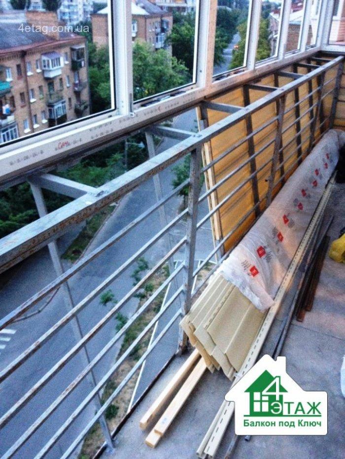 Балконы с выносом - три способа увеличить площадь.