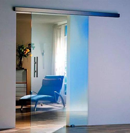 Достоинства стеклянных дверей