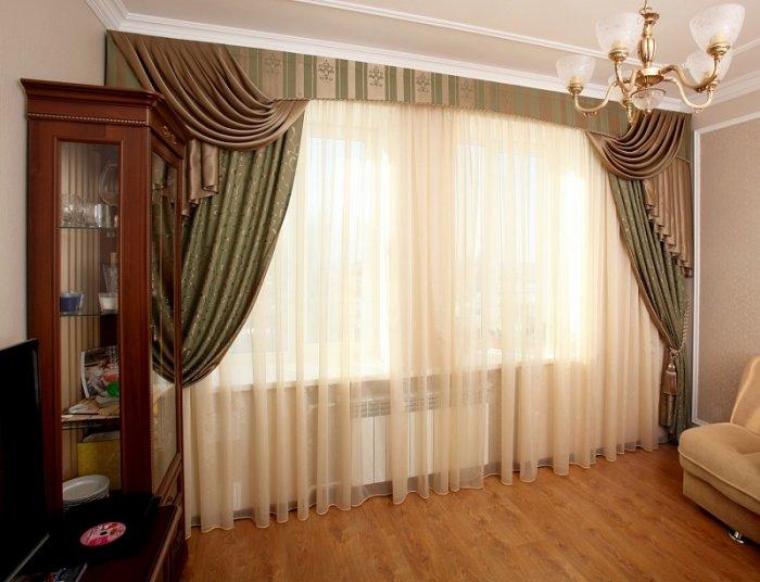 Классические варианты шторы
