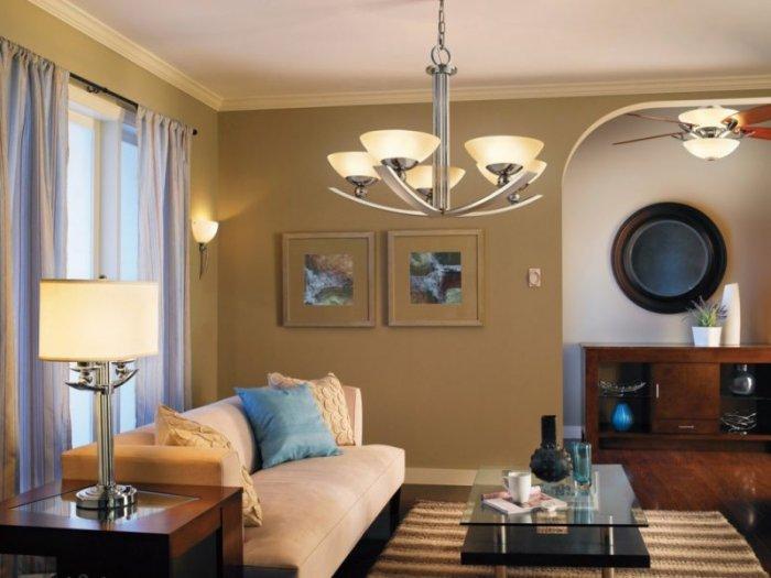 Светильники в комнате для отдыха
