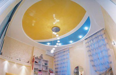 Продумайте дизайн потолков