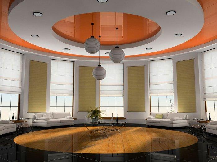Разработка дизайна потолков