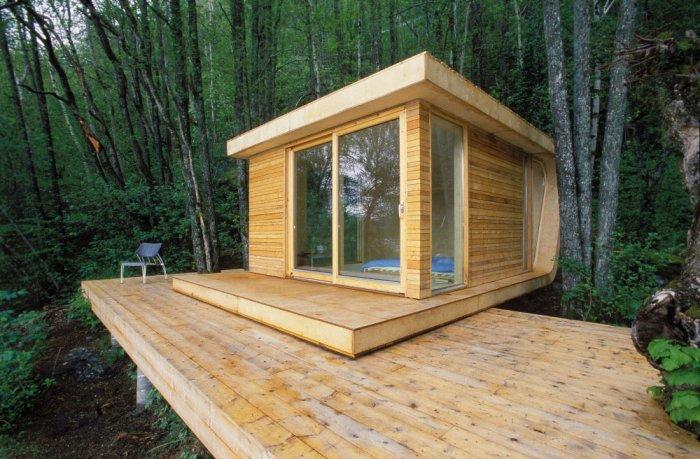 Готовые летние домики - удобство и функциональность