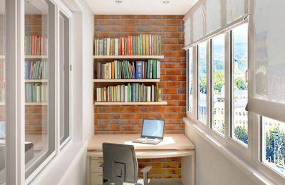 Утепляем балкон для кабинета