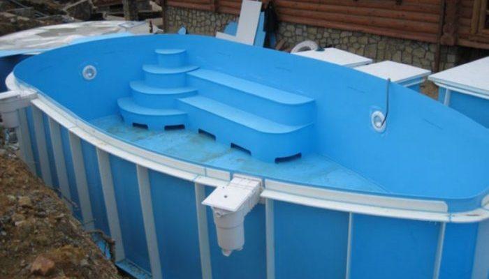 Предподготовка для возведения бассейна