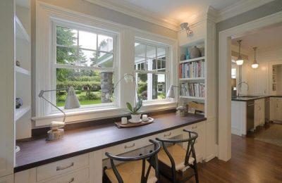 Окна на балкон для кабинета