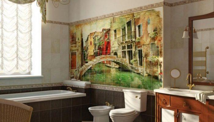 Фотографии на стене. Керамическая фотоплитка